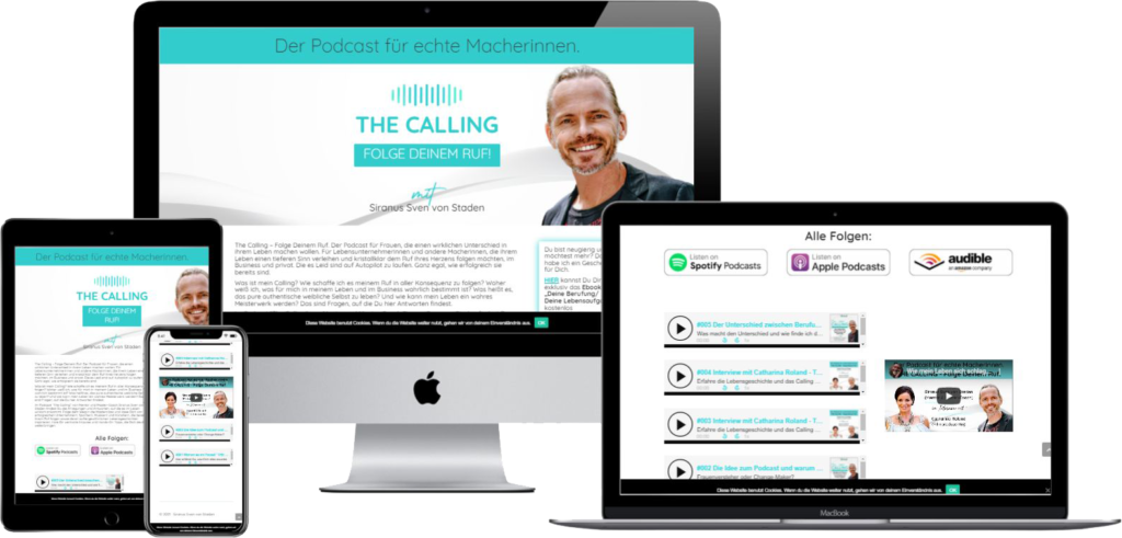 Siranus Sven von Staden Podcast The Calling